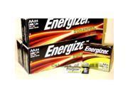 New 72 Energizer Industrial AA Alkaline Batteries (EN91, LR6)