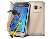 i-Tronixs (Clear) Samsung Galaxy J5 2016 case TPU Clear Gel Skin+ Tempered Glass Screen Protector -Clear 9SIABHT54X7763