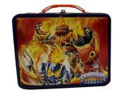 Skylanders Square Carry All Tin Stationery Lunch Box Lunchbox - Blue 9SIABHU5249335