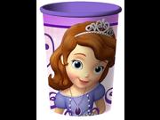 12X Princess Sofia Plastic 16 Ounce Reusable Keepsake Favor Cup ( 12 Cups ) 9SIABHU5905646