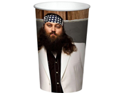 Duck Dynasty Willie 22Oz Cup (Each) - Party Supplies 9SIABHU53Z5887