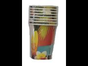 Hawaii Beverage Cups Pack of 8 9SIABHU58N7285