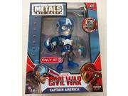 "Civil War Captain America 4"""" Inch Metal Figure"" 9SIABHU58N7027"