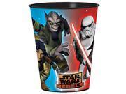 12X Star Wars Rebels Plastic 16 Ounce Reusable Keepsake Favor Cup ( 12 Cups ) 9SIABHU58N7446