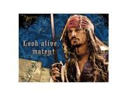 Pirates of the Caribbean Pack of 8 Invitations 9SIABHU58N7042