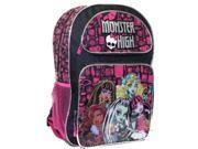 Monster High 16 Inch Large Backpack 9SIABHU58N7037