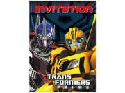 Transformers Prime Bumblebee Pack of 8 Invitations 9SIABHU58N7212