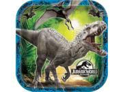 Jurassic World  Luncheon Plates (8 Pack) - Party Supplies 9SIABHU58N7513