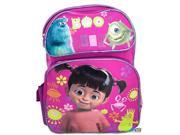 """Monsters University Mike Boo Sully Large 16"""""""" Cloth Backpack Book Bag Pack - Pink"""" 9SIABHU58N7029"""
