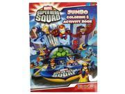 Marvel Super Hero Squad Jumbo 96 pg. Coloring and Activity Book w Thor 9SIABHU58Z7655