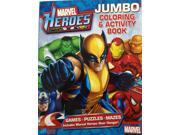 Marvel Heroes Jumbo Coloring and Activity Book 9SIABHU58Z7632