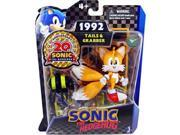 "Sonic The Hedgehog 20th Anniversary 3"""" Plastic Action Figure 1992 Tails/Grabber"" 9SIABHU58Z7592"