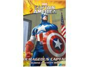 "Captain America Jumbo 96 pg. Coloring and Activity Book - """"Courageous Captain"""""" 9SIABHU58Z7680"