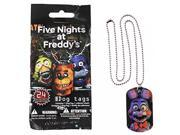 Five Nights At Freddy's Dog Tag Necklace 9SIABHU5905290