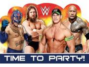 WWE Invitations (8 Pack) - Party Supplies 9SIABHU5905534