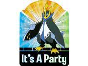 Pokemon Pack of 8 Invitations 9SIABHU5905559
