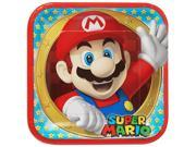 "Super Mario 9"""" Luncheon Plates (8 Pack) - Party Supplies"" 9SIA0196RS1067"