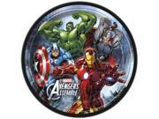 Avengers Assemble 8 Inch Large Lunch Plates  - Black 9SIABHU58N7049