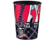 12X Monster High Plastic 16 Ounce Reusable Keepsake Favor Cup ( 12 Cups ) 9SIABHU5905377