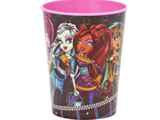 Monster High Pink Plastic 16 oz Reusable Keepsake Souvenir Favor Cup (1 Cup) 9SIABHU5905637