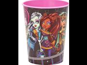Monster High Pink Plastic 16 oz Reusable Keepsake Souvenir Favor Cup (1 Cup) 9SIABHU5905637