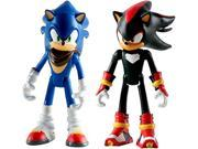 Sonic Boom 2 Pack Plastic Figures - Sonic And Shadow 9SIABHU59N1640
