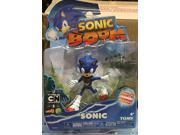Sonic Boom 3 Inch Plastic Figure Toy Different Pose-Sonic 9SIABHU59N1659