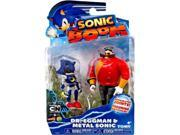 Sonic Boom 2 Pack Plastic Figures - Dr. Eggman And Metal Sonic 9SIABHU59N1586