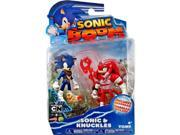 Sonic Boom 2 Pack Plastic Figures - Dirty Sonic And Bruised Knuckles 9SIABHU59N1602