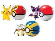 Pokemon Pack of 3 Pokeball Pikachu, Noibat, Cubone 9SIABHU59N1642