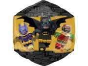 LEGO Batman Movie Supershape Foil Balloon 9SIABHU5A33823