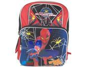 "Spiderman Large 16"""" Cloth Backpack Book Bag Pack - Spider Hero"" 9SIABHU5A33611"