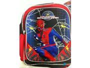 "Spiderman 12"""" Cloth Toddler Backpack Boog Bag Pack - Black/Red"" 9SIABHU5A33624"
