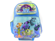 "Monsters University Mike Sully Large 16"""" Rolling Backpack Wheels"" 9SIABHU58Z7574"