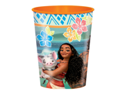 12X Moana Plastic Cups Pack of 12 9SIABHU5A53887