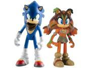 Sonic Boom 2 Pack Plastic Figures - Sonic And Sticks 9SIABHU5AT9685