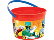 Power Rangers Dino Charge Plastic Favor Bucket Container ( 1pc ) 9SIABHU5CD7706