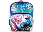 Backpack Disney Lilo and Stitch Playing 16 New 100179