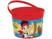 Jake And Neverland Pirates Plastic Favor Container (Each) - Party Supplies 9SIABHU5CH2133