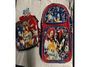Sonic The Hedgehog Large 16 Inch  Backpack - 4 Characters present 9SIABHU5PW8087