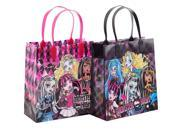 Monster High Party Favor Goodie Medium Gift Bags 12 9SIABHU5PW8042
