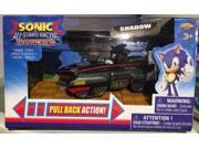 Sonic All Stars Racing Pull Back Action - Shadow 9SIABHU5PW8091