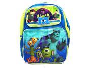 "Monsters University Mike and Sully Large 16"""" Cloth Backpack Book Bag Pack"" 9SIABHU58N7179"