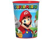 12X Super Mario Bros. Plastic 16 Ounce Reusable Keepsake Favor Cup ( 12 Cups ) 9SIABHU58X4729