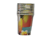 Hawaii Beverage Cups Pack of 8 9SIABHU58N7285