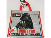 LEGO Star Wars Jumbo Reusable Tote Bag - Darth Vader 9SIABHU59H6396