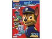 Paw Patrol Jumbo 96 pg. Coloring And Activity Book - Pups In Action 9SIABHU58N7184