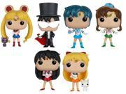 6X Funko Pop! Animation Sailor Moon Vinyl Action Figures Toys 9SIABHU5F07461