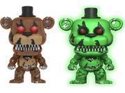 2X Funko Pop! Games Five Nights at Freddy's Vinyl Figures #111 Freddy and Green 9SIABHU5EG8854