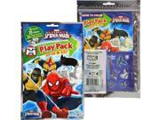 12X Ultimate Spiderman Grab and Go Play Pack Party Favors - Team Heroes(12 Pack) 9SIABHU5Z86081